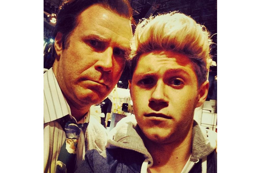 NIALL HORAN: When your hair's making you almost as tall as Will Ferrell, it may be time to pop down to Just Cutz.