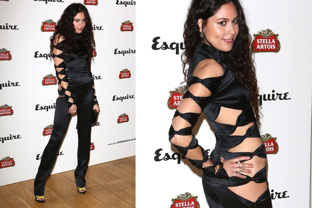 THE WORST - ELIZA DOOLITTLE, MAY: Apart from the obvious it's-a-freaking-satin-high-necked-too-tight-ripped-to-bits jumpsuit issues, how long must it have taken Eliza Doolittle to get into this ruddy thing? Her hand would have kept trying to escape mid-pull on: smart move tiny compadre.