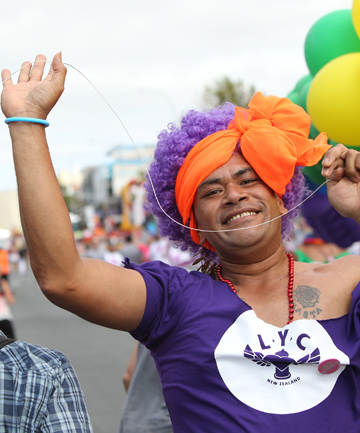PROUD: Last year's Auckland Pride Festival paved the way for the first gay pride parade in more than a decade.