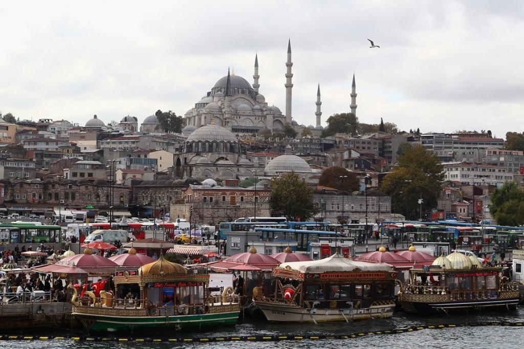 A general view of Istanbul.