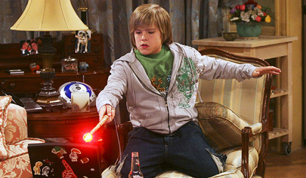 CHILD STAR: Dylan Sprouse in the Suite Life of Zack and Cody.