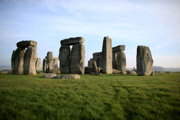 Stonehenge monument is seen on last week in Wiltshire, England