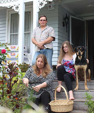 GOOD LIFE: The Craigs lead a self-sufficient, green lifestyle in their suburban Mt Albert home.