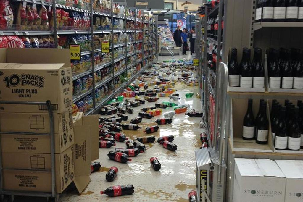 Wellington earthquake