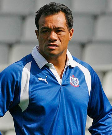 CHARGED: Former Samoa rugby international Brian Lima.