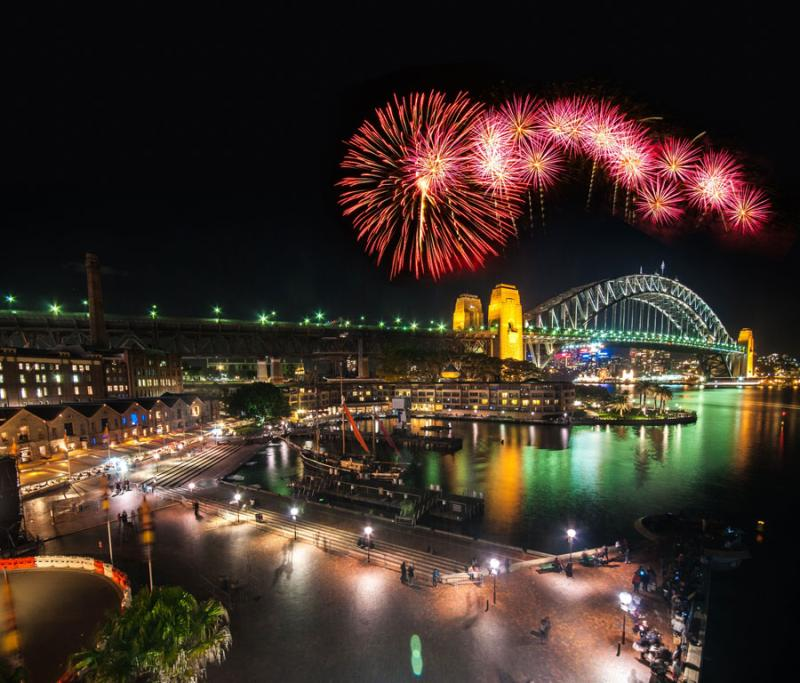 SYDNEY: Circular Quay is the place to be as Sydney Habour gets ready to ring in the new year.