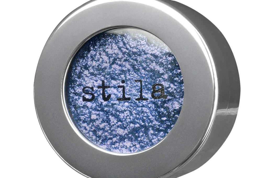 Stila's Magnificent Metals Foil Finish Eyeshadow in Metallic Cobalt, $60, from Mecca Cosmetica.