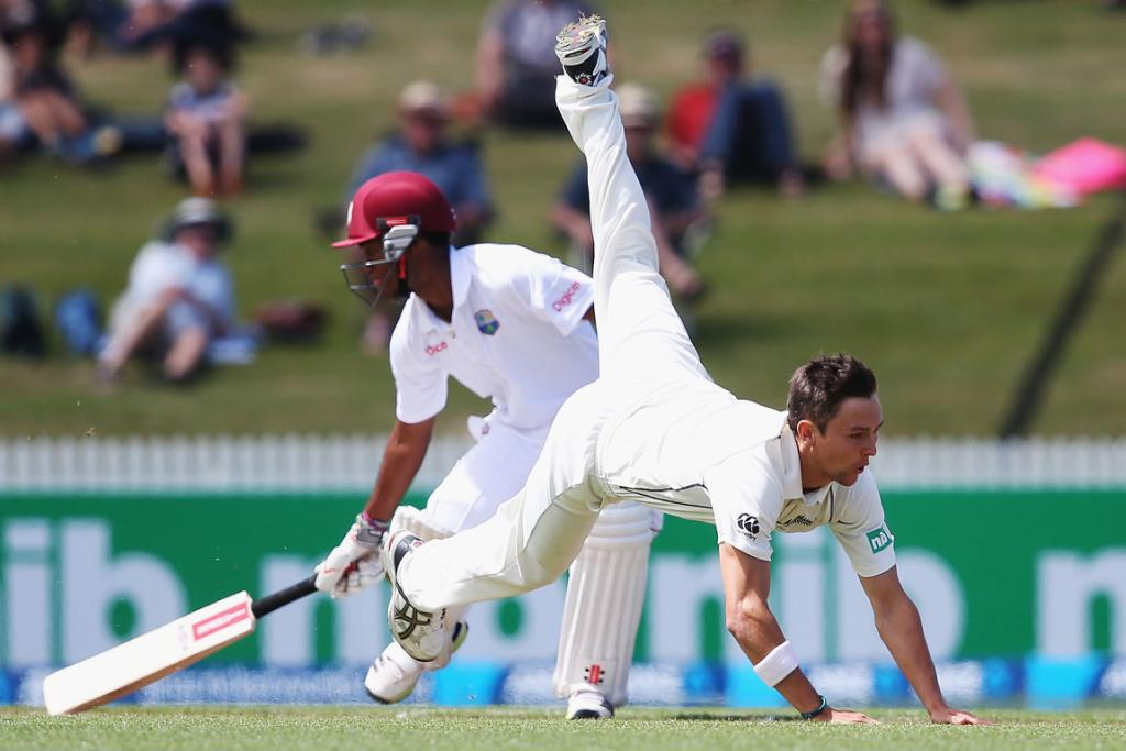 Black Caps v West Indies third test