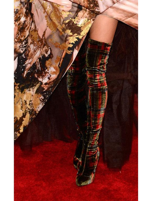 Sarah Jessica Parker's custom Christian Louboutin boots were the talk of the town at this year's Met Gala.
