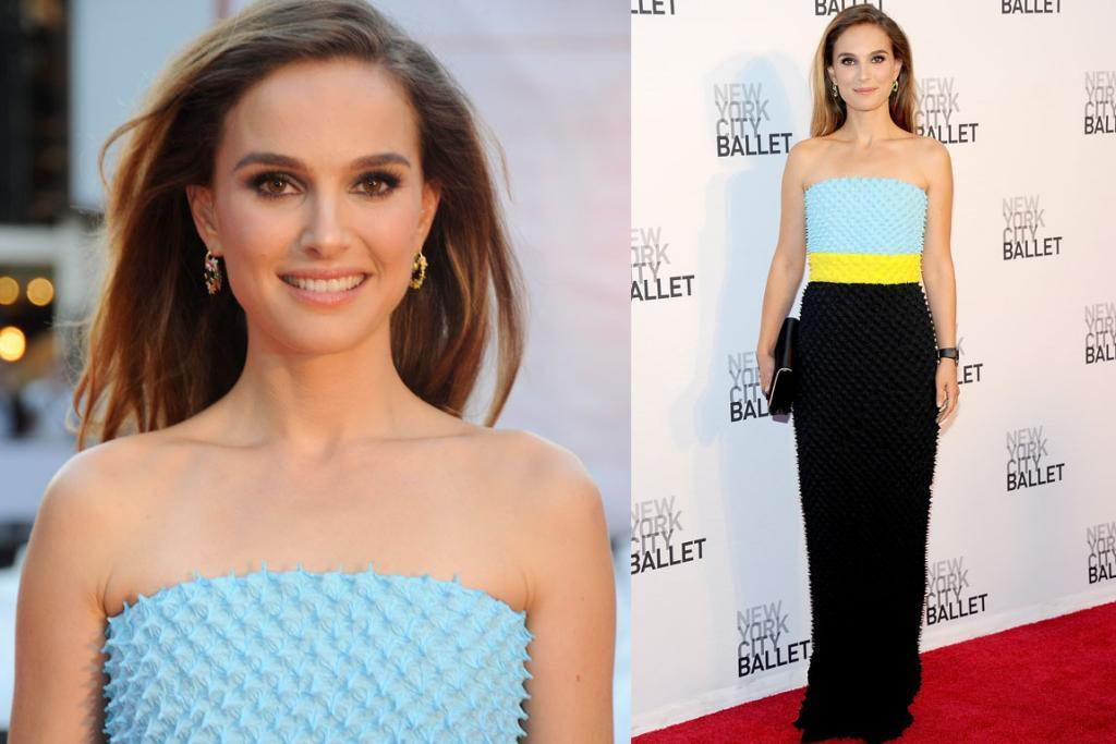 "THE BEST - NATALIE PORTMAN, SEPTEMBER: Natalie Portman made this Dior Fall 2013 Couture gown look about a billion times better than it looked on the runway. <a href=""http://mbcdn.munaluchibridema.netdna-cdn.com/wp-content/gallery/christian-dior-fall-2013/christian-dior-fall-2013-couture-11_124455388046.jpg"" target=""_blank"">Am I right?</a>  The spiky texture of the tri-colour gown made it just-interesting-enough, and I actually really love this out-of-character Cindy Crawford-style hair on the actress. You?"