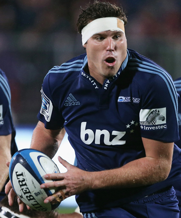 RULED OUT: A knee injury at preseason training has ruled Culum Retallick out of Super Rugby.