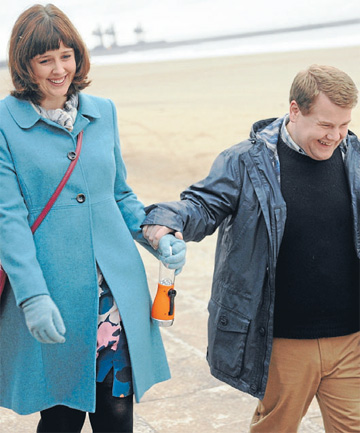 Alexandra Roach and James Corden in a scene from One Chance.