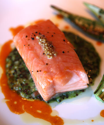 SENSATIONAL SALMON: A must-buy is Mount Cook Alpine Salmon, salmon so fine it's air-freighted to restaurants around the world.