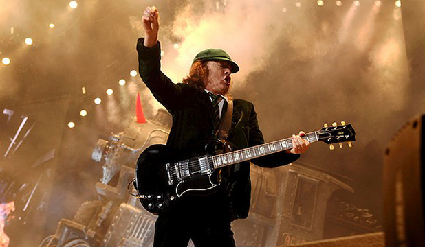 NEW RECORD: AC/DC's 'Highway to Hell' is at No. 4 on the British singles chart.