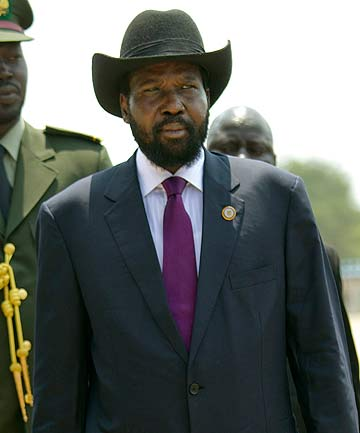 South Sudan President Salva Kiir.