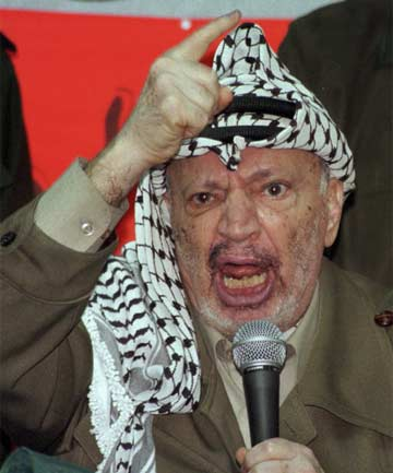 DECEASED: Yasser Arafat died of natural causes, according to results of samples by Russian scientists.