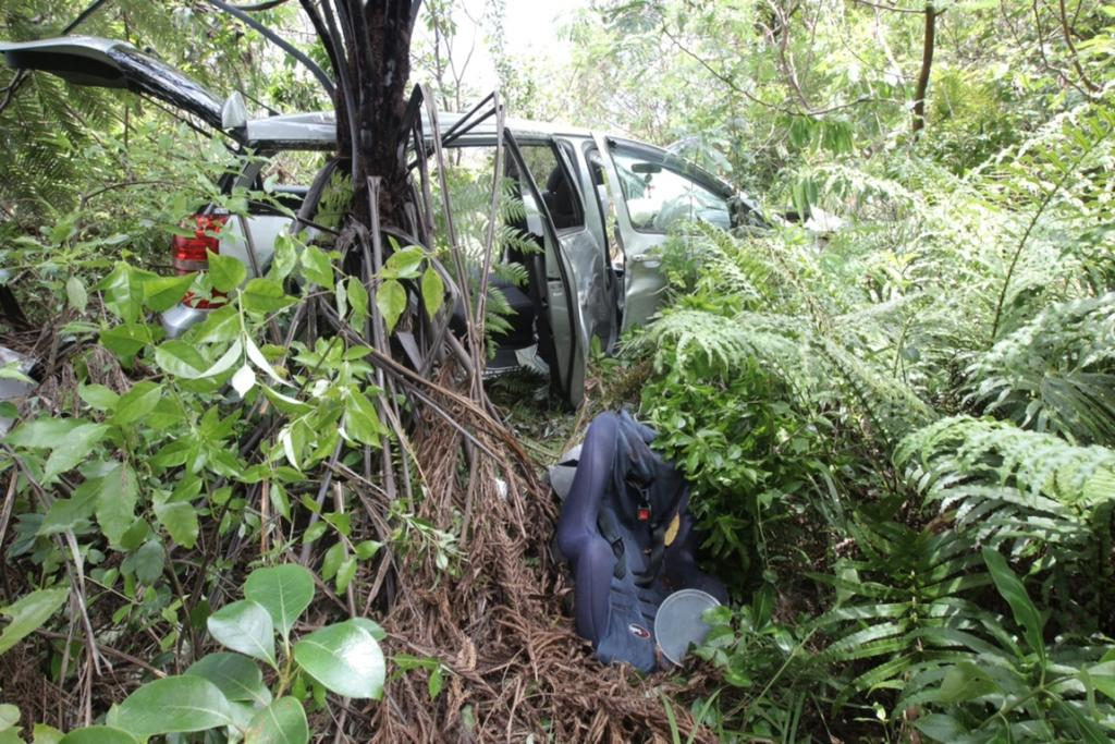 Crash on Tairua Whitianga Rd