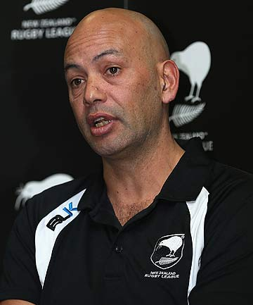 AWARE: Tony Iro, the Kiwis' manager, says he's long been aware of the practice of mixing sedatives with energy drinks.