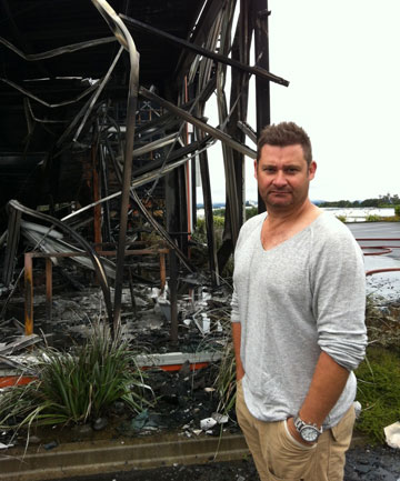 FOCUSED: Pumice Food Group owner David Kerr says he is determined to rebuild the restaurant.