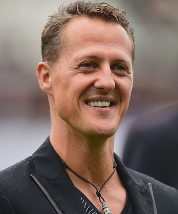 LIFE IN THE FAST LANE: Michael Schumacher.