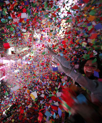 New Year's Eve celebrations in Times Square