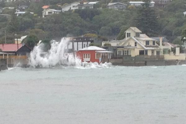 Wellington wind 3 jan 2014