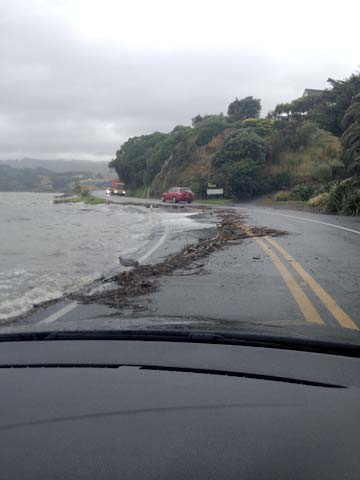 HAZARDOUS CONDITIONS: State Highway 58 - Whitby to Pauatahanui.