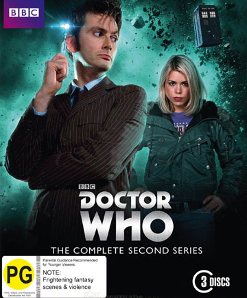 Blu-ray review: Doctor Who - Series 2