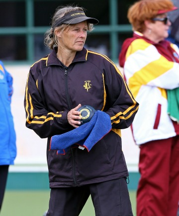 VICTORIOUS: Helen King, seen in file photo, won the New Zealand women's bowls championships today.