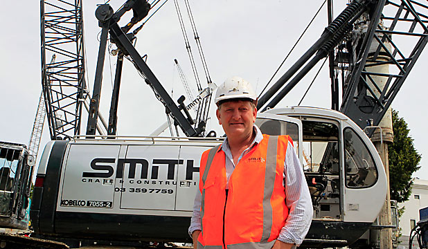 FAMILY FIRM: Tim Smith and his family have $70m invested in equipment.