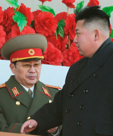 Kim Jong-un and uncle