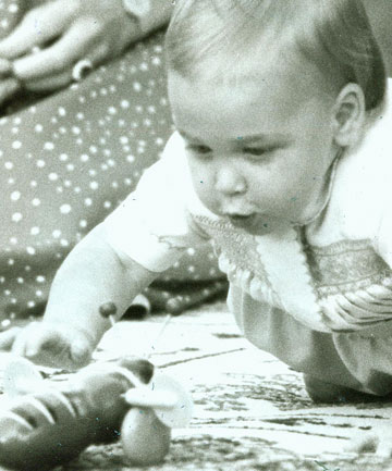 Prince William at 10 months old