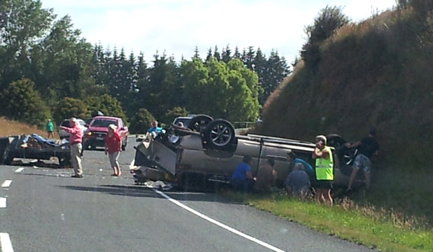 taupo crash