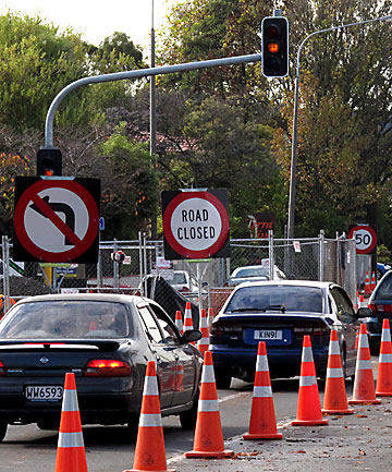 ROADWORKS: Christchurch drivers are being told to brace themselves for more roadworks in the central city.
