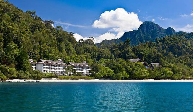 ULTIMATE LUXURY: The Andaman Langkawi is tucked between a 10-million-year-old rainforest and its own calm bay.