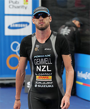 TALKING BUSINESS: Retired Manawatu triathlete Kris Gemmell now has a job travelling the world working for the world triathlon series.