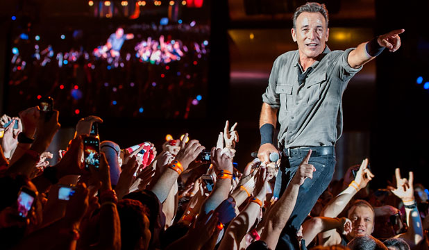 STILL GOT IT: Bruce Springsteen shows in Rio De Janeiro, Brazil, he's still got it on stage, but his latest album High Hopes may only be just that.
