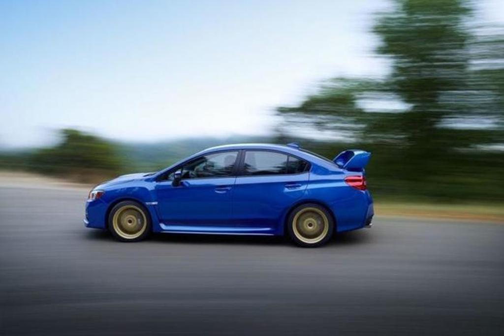 2014 Subaru WRX STI revealed.