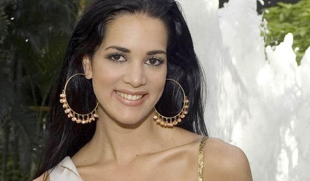 SLAIN: Former beauty queen and soap star Monica Spear.