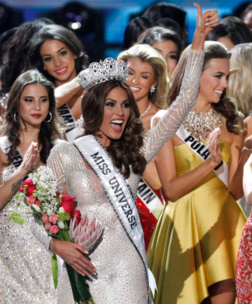 CURRENT QUEEN: Miss Venezuela Gabriela Isler wins Miss Universe 2013.