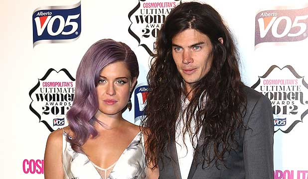 SEPARATE WAYS: Kelly Osbourne and Matthew Mosshart have ended their engagement.