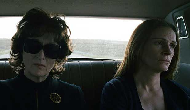 COMMITTED CAST: Meryl Streep and Julia Roberts in August Osage County.