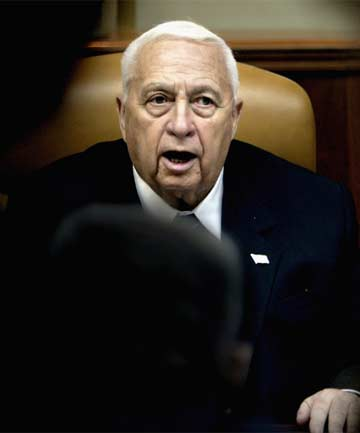 TRAILBLAZER: Former Israel prime minister Ariel Sharon, in a coma in a Jerusalem hospital since 2006, has died at age 85.