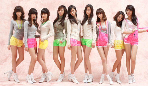 THE IDEAL: K-Pop band Girls Generation are the pinnacle of the South Korean beauty ideal.