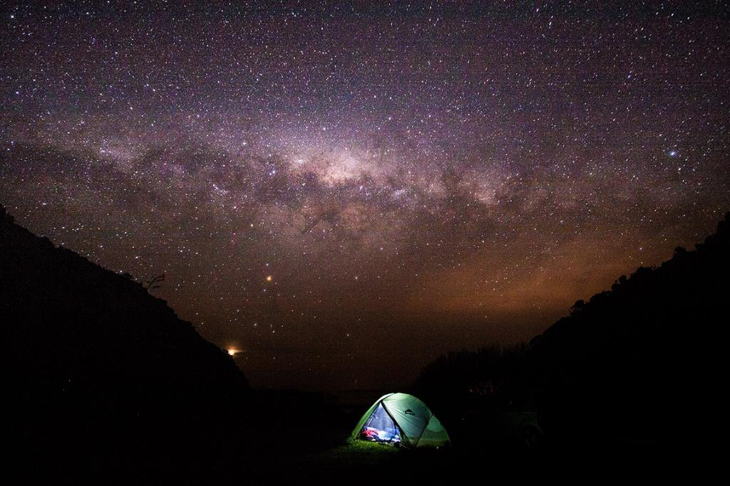 SHENG-HUEI HUANG: Camping Under the Milky Way (Adults category)