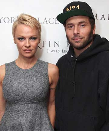 Pamela Anderson and Nick Salomon