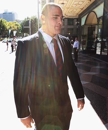 BEHIND BARS: Russell Packer is in the process of appealing his jail sentence.