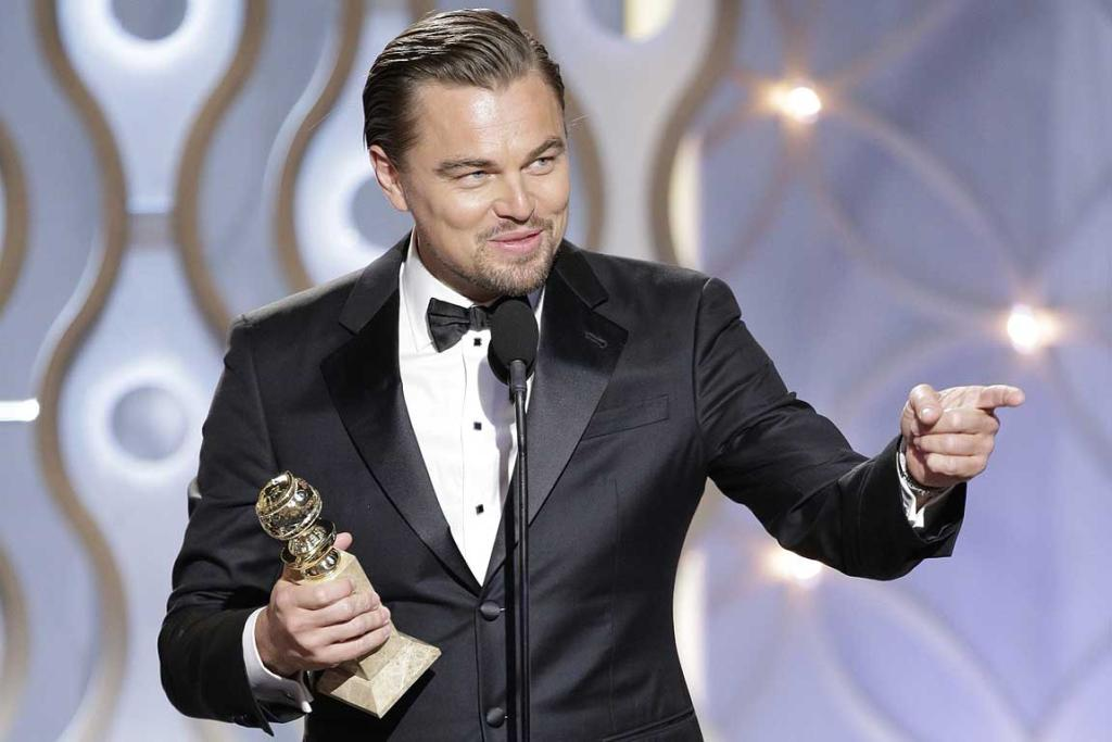 Leonardo DiCaprio, Winner Best Actor - Motion Picture, Comedy or Musical, for The Wolf of Wall Street.