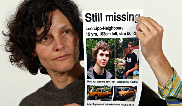 NO RESOLUTION: Charlotte Lipp is still without the answer to son Leo's disappearance.