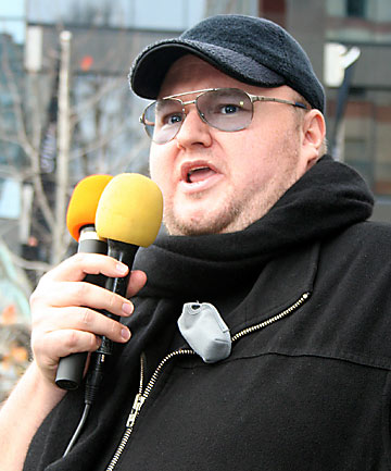 KIM DOTCOM: His electoral base will be the generation born into the internet age.